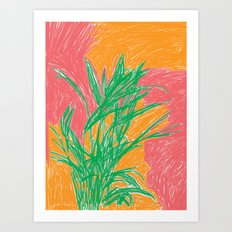 Plant, 2013. Art Print