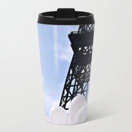 Eiffel Tower With Balloons Travel Mug