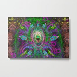 Extraterrestrial Palace 2 Metal Print