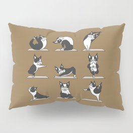 Boston Terriers Yoga Pillow Sham