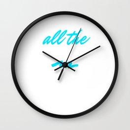 Funny Ketamine Ket Wall Clock