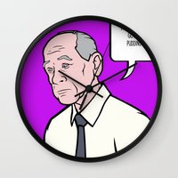 lichtenstein Wall Clocks featuring Woodhouse Archer Lichtenstein by turantuluy