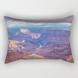 Grand Canyon and the Colorado River Rectangular Pillow