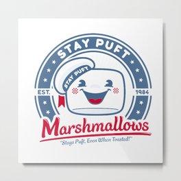 Marshmallows Metal Print