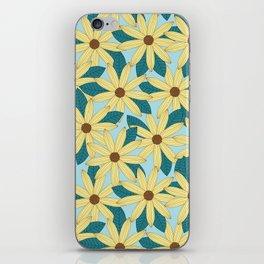 Gerbera Blue iPhone Skin