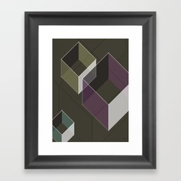 Muted RGB by Friztin Framed Art Print