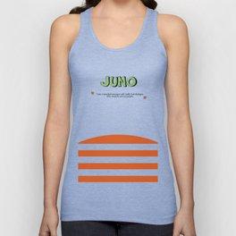 Juno - Alternative Movie Poster, classic movie, funny movie, minimal movie poster Unisex Tank Top