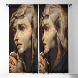 "Théodore Géricault ""Mater dolorosa, copy after Ribera"" Blackout Curtain"
