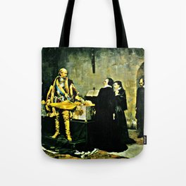 Insulting the Corpse Tote Bag