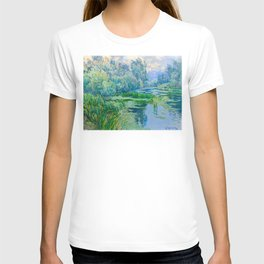Václav Radimský (1867-1946) At The Confluence Colorful Bright Impressionist Oil Landscape Painting T-shirt