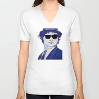 snl V-neck T-shirts featuring Jake Blues 1 by Kramcox