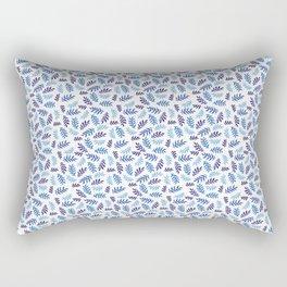 Big Sur Watercolor Rectangular Pillow
