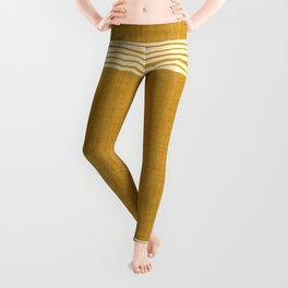 Band in Gold Leggings
