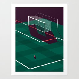 Football (Soccer) Art Print