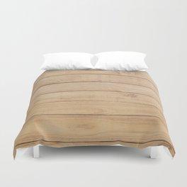 Wood plank Duvet Cover