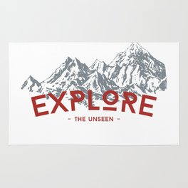 EXPLORE THE UNSEEN Rug