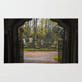 Cemetery gates Rug