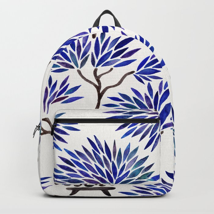 Bonsai Tree – Navy Palette Backpack