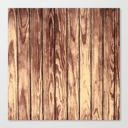 Texture Brown Wood Canvas Print