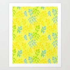 Picnic Pals paint in citrus Art Print
