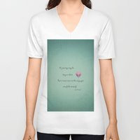 journey V-neck T-shirts featuring Journey by Terri Ellis