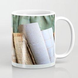 Vintage Suitcase - Textures Coffee Mug