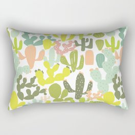 Cactus Garden Rectangular Pillow