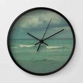 Ocean Brew Wall Clock
