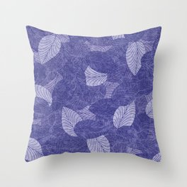 Let the Leaves Fall #07 Throw Pillow