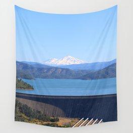 Mount Shasta and Shasta Lake Wall Tapestry