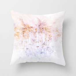 Palace Chandelier 3 Throw Pillow