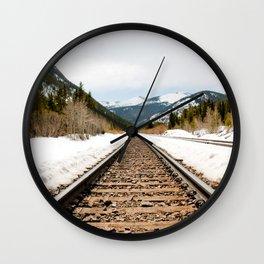 Colorado Railway Wall Clock