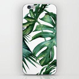 Simply Island Palm Leaves iPhone Skin