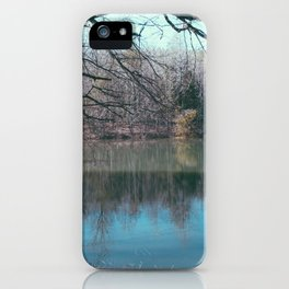 Lake Bed iPhone Case