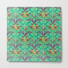 Tribal Pattern 4 Metal Print