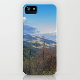 Blue Ridge Peaks iPhone Case