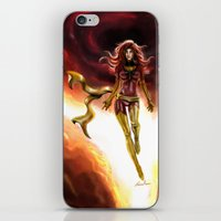 x men iPhone & iPod Skins featuring X-men-Phoenix... by Emiliano Morciano (Ateyo)