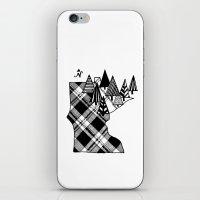 minnesota iPhone & iPod Skins featuring Minnesota Love by cmbringle