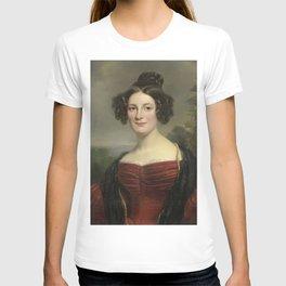 Jan Adam Kruseman - Catharina Annette Fraser (1815-92) T-shirt