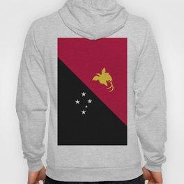 Papua New Guinea flag emblem Hoody