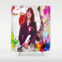 scandal Shower Curtains featuring Scandal Baby by Don Kuing