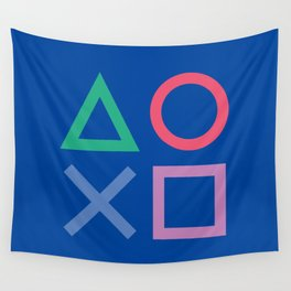 Playstation poster, this is for the players, videogame illustration , Play station, videogames art Wall Tapestry