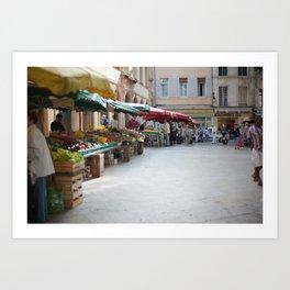 Market 6 Art Print