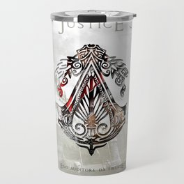 Ezio Auditore Da Firenze - Justice Travel Mug
