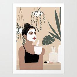 Pamper  Art Print