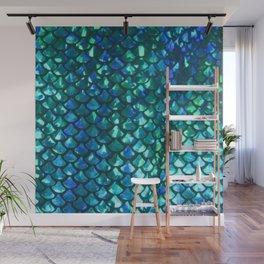 Mermaid Scales Wall Mural