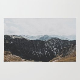 interstellar - landscape photography Rug