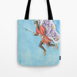 Butterfly King Tote Bag