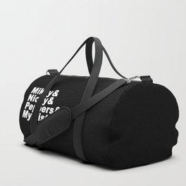 Angel is takin the kids to her sista's Duffle Bag