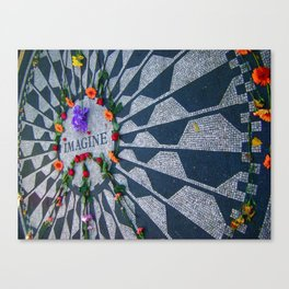 Imagine in Strawberry Fields Canvas Print